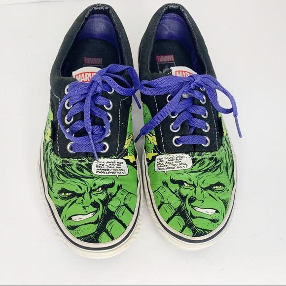 Vans Marvel Incredible Hulk Lace Up Sneakers